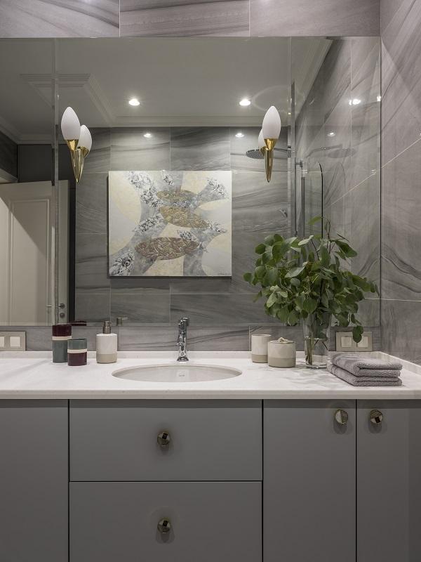 Расположение. Картины в ванную комнату